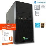 PCPLUS e-office i3-8100 4GB 240GB SSD Windows 10 Home + darilo: 1 leto Office 365 Personal namizni računalnik