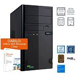 PCPLUS e-office i7-9700 8GB 256GB NVMe SSD 1TB HDD Windows 10 Home + darilo: 1 leto Office 365 Personal namizni računalnik