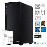 PCPLUS Gamer i5-9400F 16GB 256GB NVMe SSD + 1TB GTX1650 4GB Windows 10 Home Office H&S 2019 gaming namizni računalnik