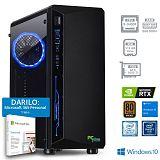PCPLUS GAMER i5-9400F 8GB 512GB GTX 1050Ti Windows 10 Home + darilo: 1 leto Microsoft 365 Personal gaming namizni računalnik