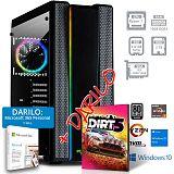 PCPLUS Gamer R7 3700X 16GB 512GB 2TB RX 6800 Windows 10 Home + darilo: 1 leto Microsoft 365 Personal namizni računalnik