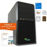 PCPLUS i-net Athlon 200GE 4GB 240GB SSD Windows 10 Home + darilo: 1 leto Office 365 Personal namizni računalnik