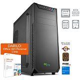 PCPLUS Magic AMD Ryzen 5 3400G 8GB 256GB NVMe SSD 1TB HDD Windows 10 Home + darilo: 1 leto Office 365 Personal namizni računalnik