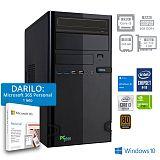 PCPLUS Storm i3-10100F 8GB 240GB SATA GT 710 2GB Windows 10 Home + darilo: 1 leto Microsoft 365 Personal namizni računalnik
