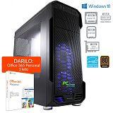 PCPLUS Storm i5-8400 8GB 240GB SSD GTX 1050Ti Windows 10 Home + darilo: 1 leto Office 365 Personal namizni računalnik