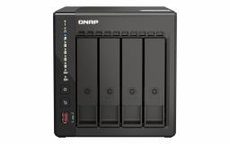 QNAP NAS strežnik za 4 diske, 8GB ram, 2x 1Gb mreža, HDMI