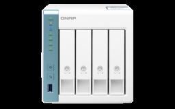 QNAP NAS strežnik za 4 diske, 2GB ram, 1x 2.5Gb in 1x 1Gb mreža