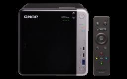 QNAP NAS strežnik za 4 diske, 8GB ram, Thunderbolt 3, 10Gb mreža, HDMI