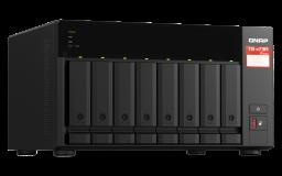 QNAP NAS strežnik za 8 diskov, 8GB ram, 2.5GbE mreža