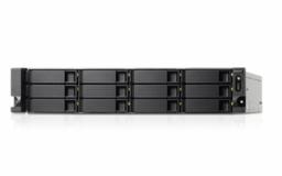 QNAP TS-1263U-RP NAS strežnik za 12 diskov, 2U 19