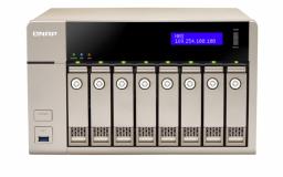 QNAP TVS-863 NAS strežnik za 8 diskov