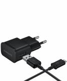 Samsung potovalni polnilnik 220V & podatkovni kabel USB 2.0 microUSB 2A