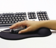 Sandberg Gel Mousepad with Wrist Rest