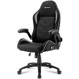 SHARKOON ELBRUS 1 črna/siva gaming stol