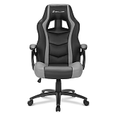 SHARKOON SKILLER SGS1 črn/siv gaming stol