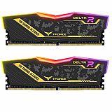 Teamgroup Delta TUF Gaming Alliance RGB 16GB Kit (2x8GB) DDR4-3200 DIMM PC4-25600 CL16, 1.35V