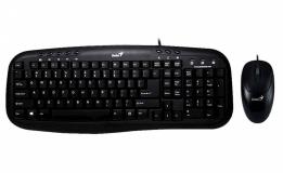 Tipkovnica GENIUS KM-210 črna z miško