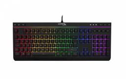 Tipkovnica Kingston HX Alloy Core RGB gaming, membranska, način zaklepanja tipkovnice