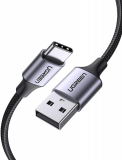 UGREEN USB 3.0 A na USB-C kabel 0.25m (črn)