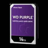 WD PURPLE 14TB SATA3, 6Gb/s, 7200, 512MB