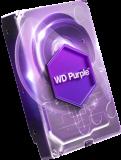 WD PURPLE 3TB SATA3, 6Gb/s, 5400, 64MB